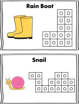 Spring Snap Cube Activity {FREEBIE}