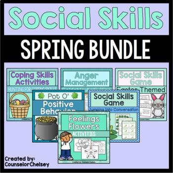 Spring Social Skills Bundle {Save 20%}