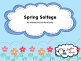 Spring Solfege Interactive Sol-Mi Sight Singing