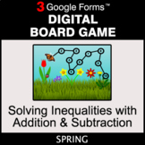 Spring: Solving Inequalities with Addition & Subtraction -