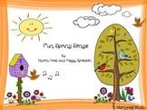 Spring Songs/Flowers/ Worms/ Bird Songs