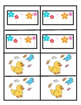 Spring Sorting Cards