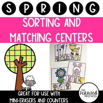 Spring Sorting and Matching Centers