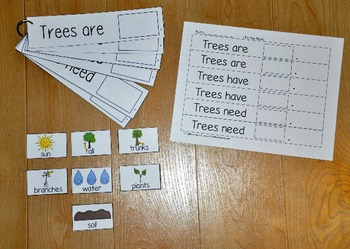 Spring Sorting and Classification Activities