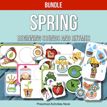 Spring Beginning Sounds and Rhymes