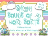Spring Sounds of -ed Sort