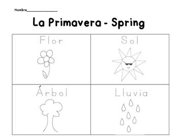 Spring Spanish Packet