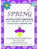 Spring Speech Articulation Companion