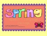 Spring Speech & Language Package