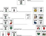 Spring Speech-Language Therapy Materials-Autism/Language Delays