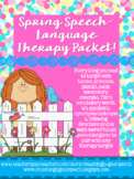 Spring Speech-Language Therapy Packet