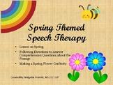 Spring Speech Therapy