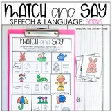 Spring Speech Therapy Activities | Digital and Printable