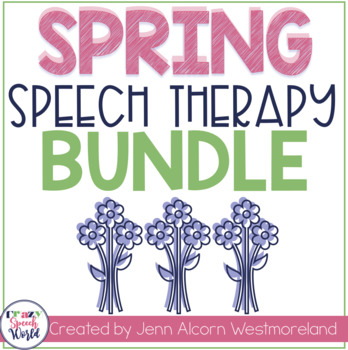 Spring Speech Therapy Bundle!