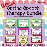 Spring Speech Therapy MEGA Bundle