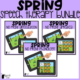 Spring Speech Therapy NO PRINT Bundle