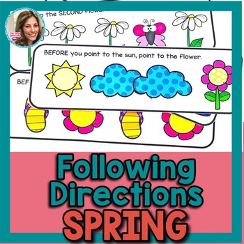 Spring Speech Therapy | Spring Speech and Language | Following Directions