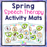 Spring Speech and Language Activities with Smash Mats