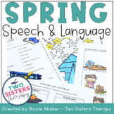 Spring Speech and Language Activities for Speech Therapy