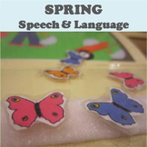 Spring Speech and Language Activity Set