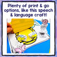 Spring Speech and Language BUNDLE - Lots of Print & Go and Low Prep Activities!