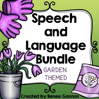 Spring Speech and Language Bundle