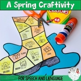 Spring Speech and Language Craftivity: Splash! Rain Boots