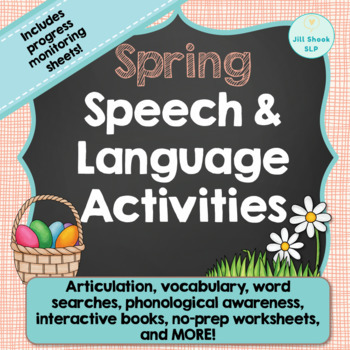 Spring Speech and Language Packet