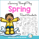 Spring Speech and Language Packet: Learning Through Play