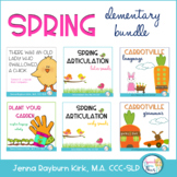 Spring ELEMENTARY Speech and Language Super Bundle