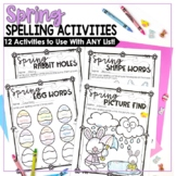 Spring Spelling Activities for ANY List
