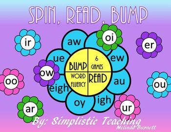 Vowel BUMP Fluency Center ar er ir or ur ou ow au aw ue ew oo eigh igh oi oy