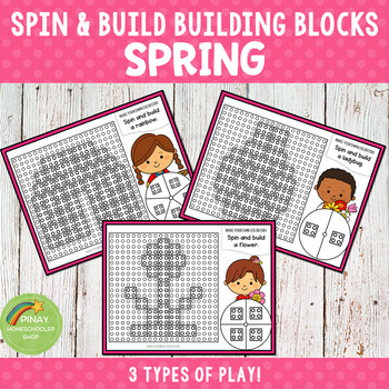 Spring Spin and Build Building Blocks