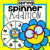 Spring Addition Game First Grade