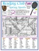 Spring Sports Jumbo Word Search Puzzle