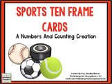 Spring Sports Ten Frame Cards!