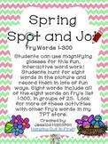 Spring Spot and Jot - Fry Words BUNDLE