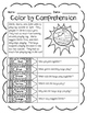 Spring & Spring Break (Color by Comprehension Stories & Questions) - 10 Stories