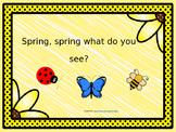 Spring, Spring What Do You See? Emergent reader PowerPoint