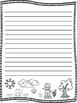 Spring (Springtime) Writing Paper--Spring Writing Stationary--DIFFERENTIATED