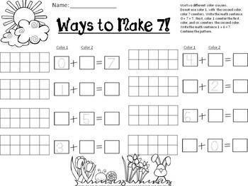 Spring Math / St. Patrick's Day Math