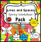 Spring Staff Worksheet Bundle