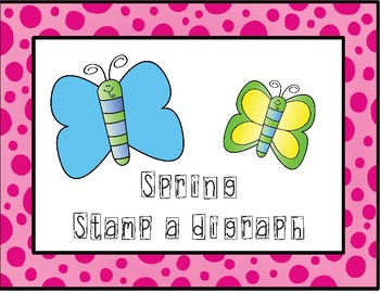 Spring Stamp a Digraph