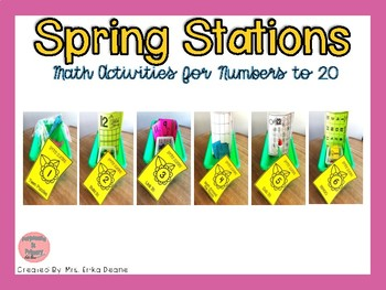 Spring Stations! Number Sense to 20