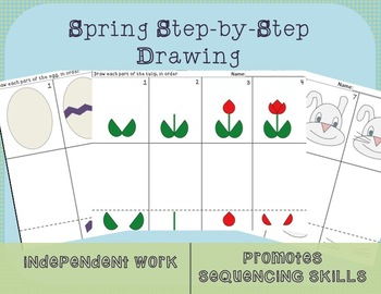 Spring Step-by-Step Drawing
