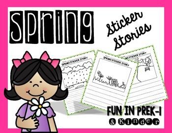 Spring Sticker Stories