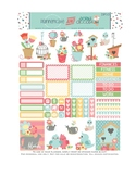 Spring Stickers Planner Printable - Birdhouses and Flower Stickers