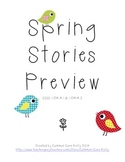 Spring Stories Preview (First Grade CGI)
