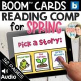 Spring Stories Reading Comprehension Set BOOM Cards™