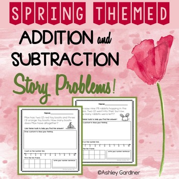 Spring Story Problems!